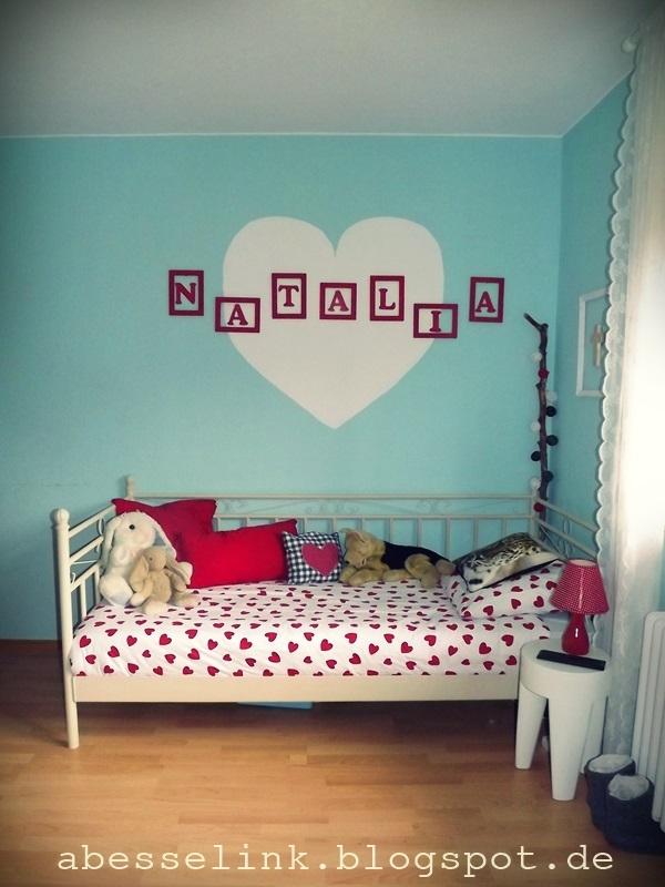 slaapkamer met als thema hartjes  Interieur  ShowHomenl