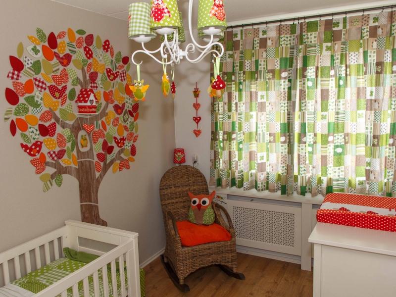 Kinderkamer Thema Bos