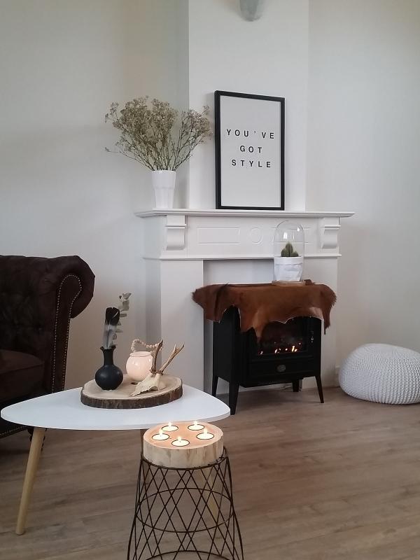 Scandinavisch wonen met tintje bruin  Interieur  ShowHomenl