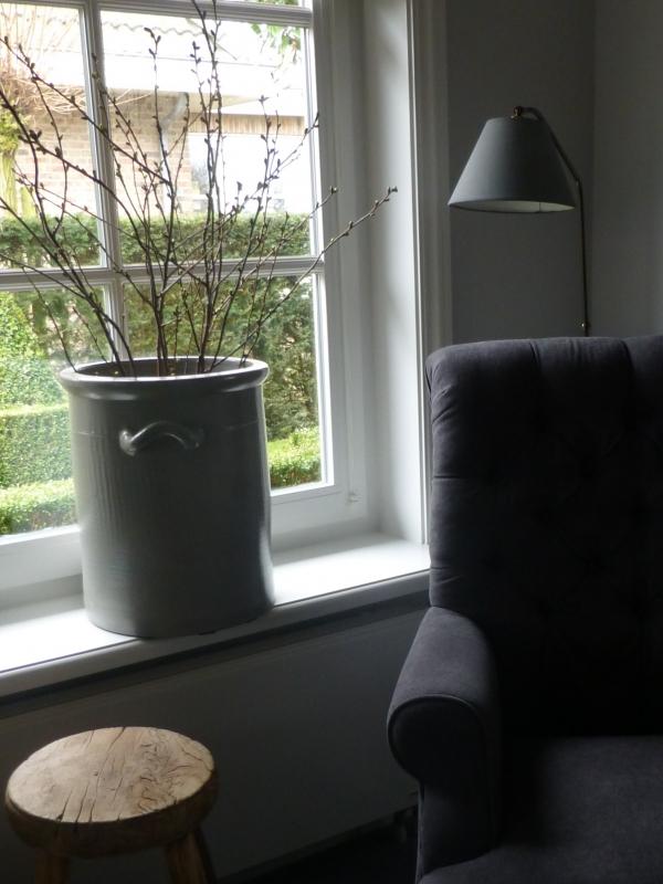 excellent sober landelijk sober wonen with vensterbank