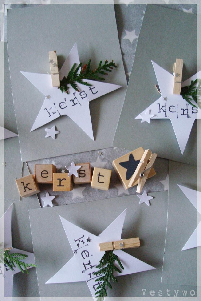 Kerstkaarten Zelf Maken Inspiraties ShowHomenl