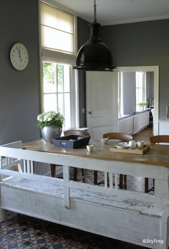 Kleuradvies voor de woonkamer en keuken  Interieurstylist