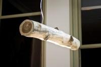 Lamp van een boomstam - Inspiraties - ShowHome.nl