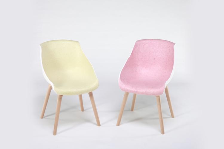 Pastelkleurige stoel  Inspiraties  ShowHomenl