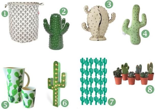 Cactus accessoires  Inspiraties  ShowHomenl