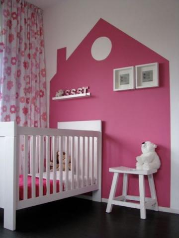 babykinder kamer roze  Interieur  ShowHomenl