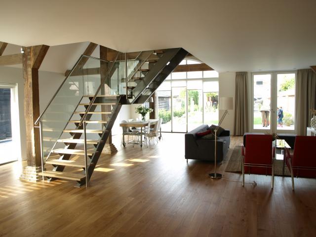 Verbouwde woonboerderij nieuwe stijl  Interieur  ShowHomenl