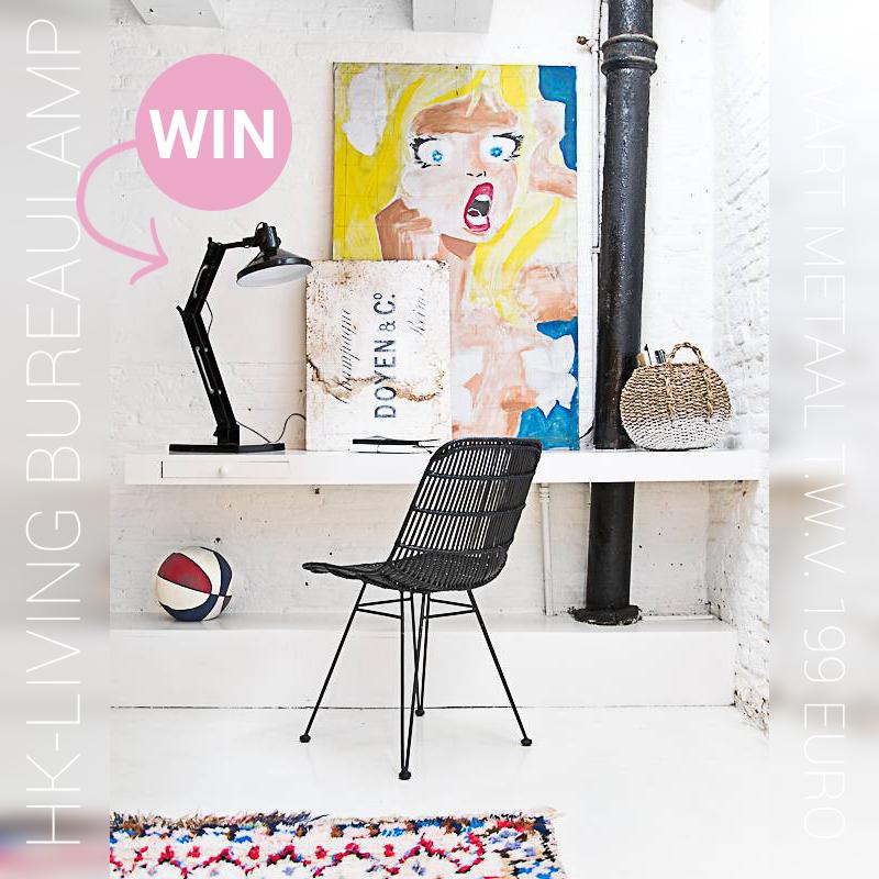 Win een gave bureaulamp van Hkliving  Inspiraties