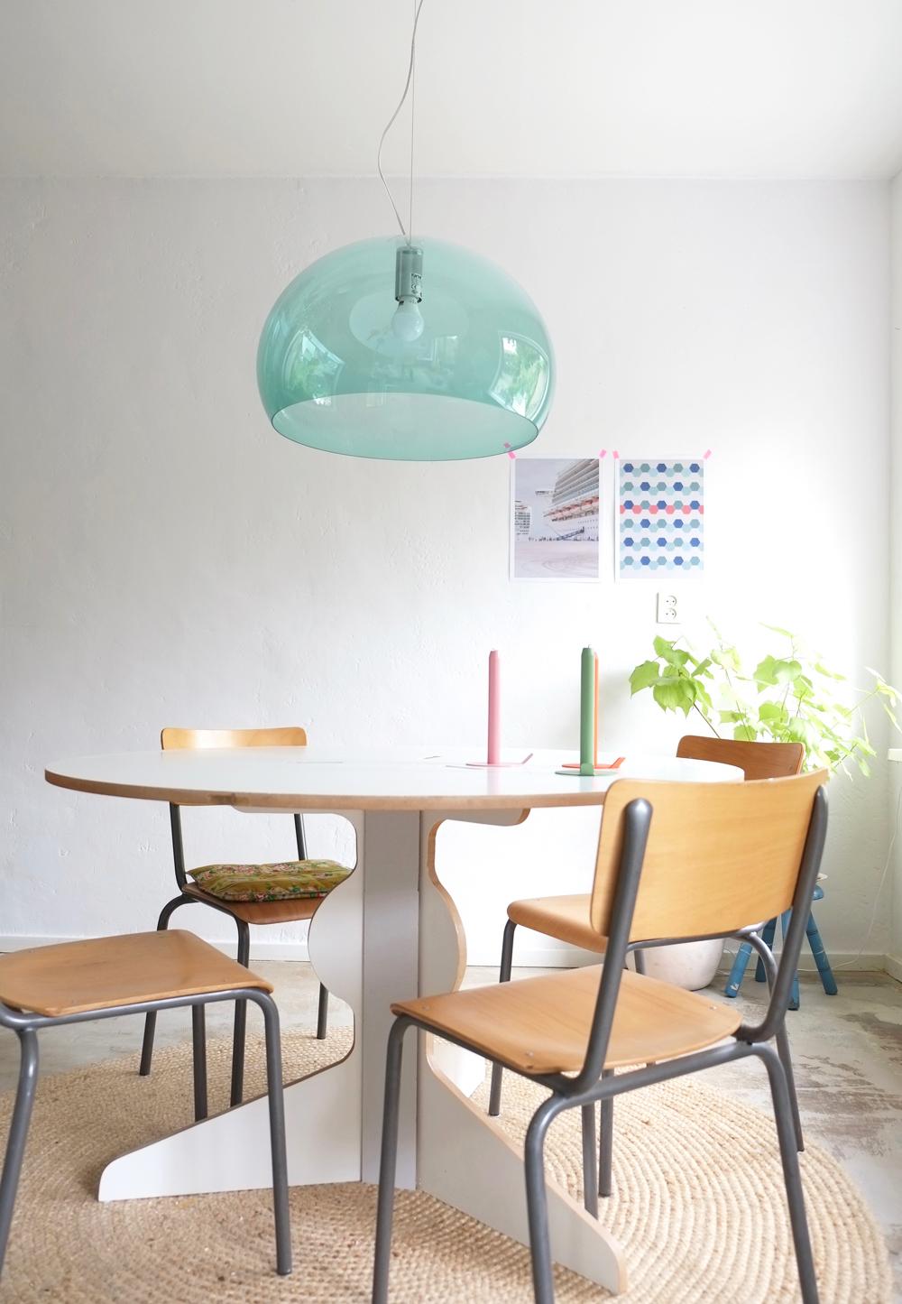 Mijn nieuwe lamp boven de eettafel Inspiraties