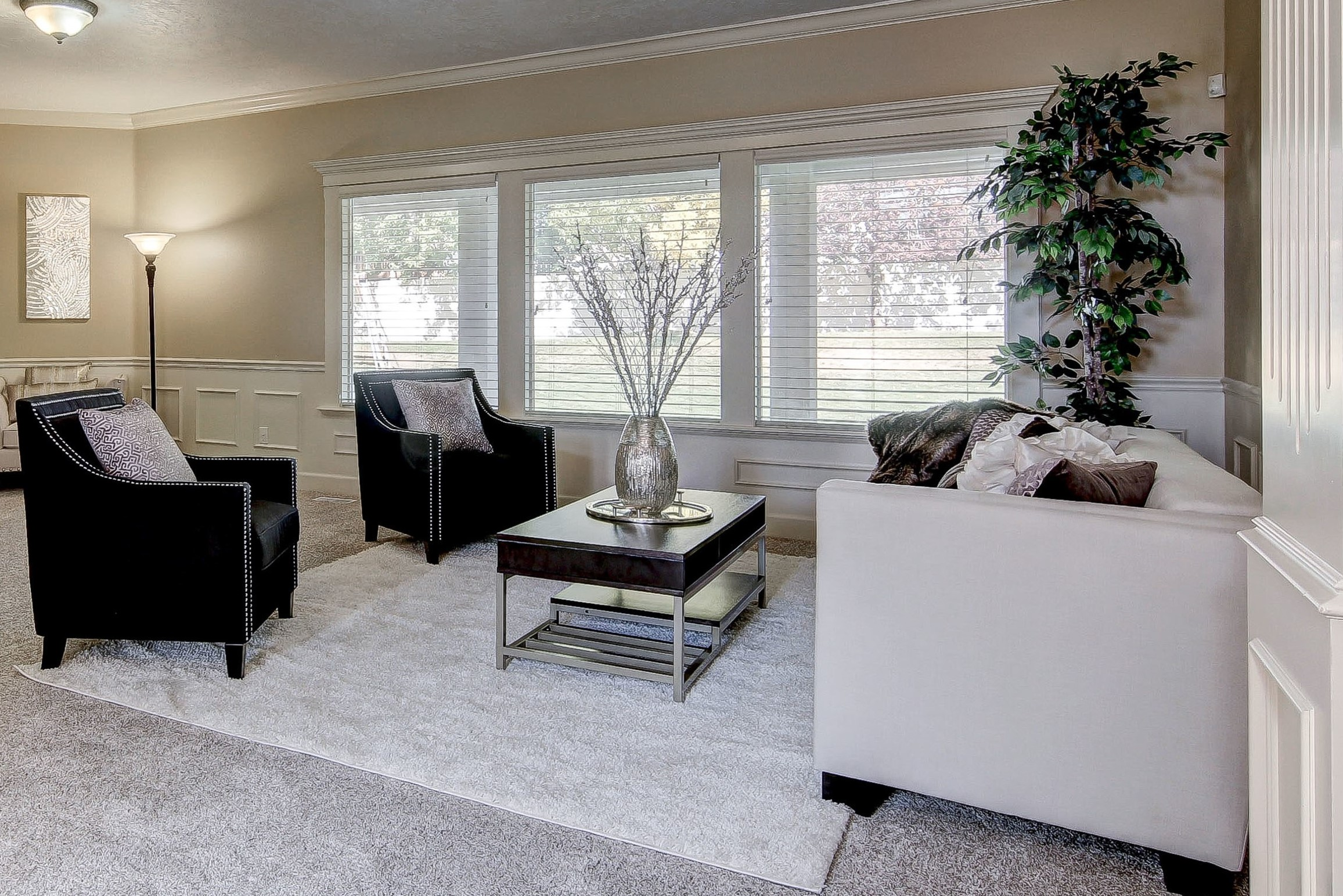 living room show homes small accent chairs for showhomes america s largest home staging company image