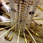 mantenimiento y reparación lamparas de cristal