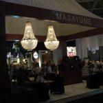 lamparas de cristal para stand masayume