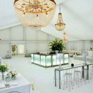 Iluminacion decorativa para bodas