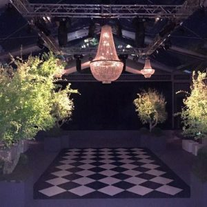 Pista de baila iluminación bodas