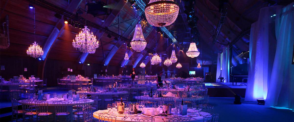decoracion gala de cena cooperativo