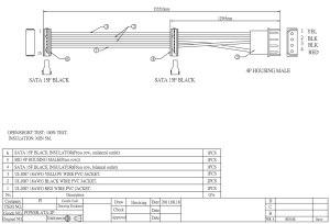 Sata Power Supply Wiring Diagram   Wiring Library
