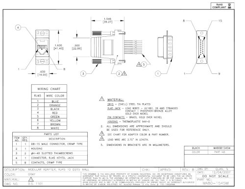 small resolution of diagram furthermore db15 to rj45 t1 pinout on db15 to db9 wiring db15 connector to rj 45 pinout diagram latest image for car engine