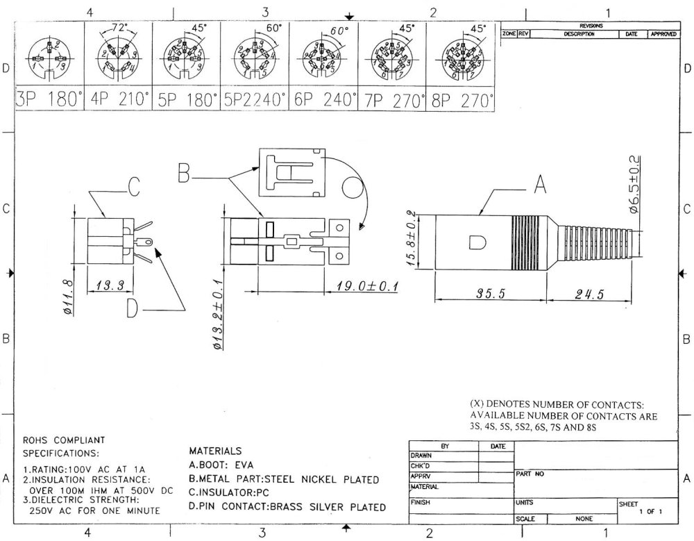 medium resolution of amphenol to xlr 4 pin wiring diagram