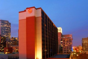 The Sheraton Hotel in OKC