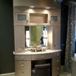 Bathroom vanity in Rose Creek Parade Home