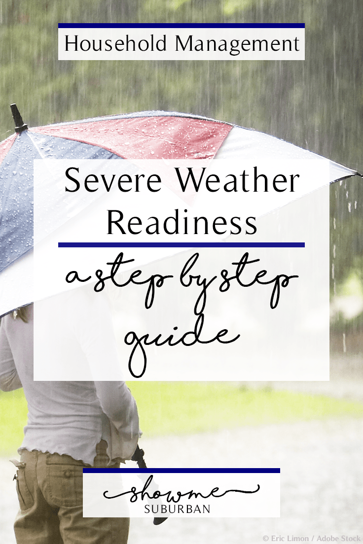ShowMe Suburban | Severe Weather Readiness: A Step-by-Step Guide