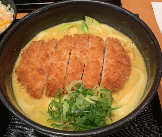 カレーうどん専門店「千吉(せんきち)」のカレーうどん1
