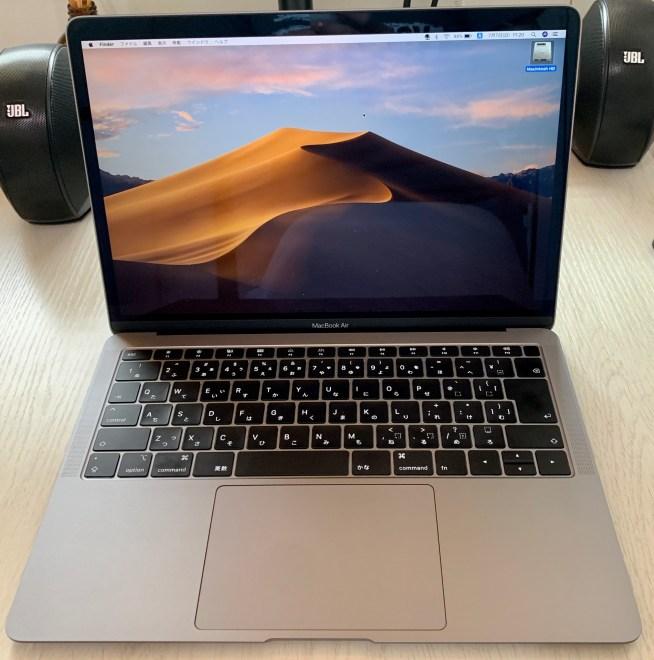 MacBookAir2018年モデル