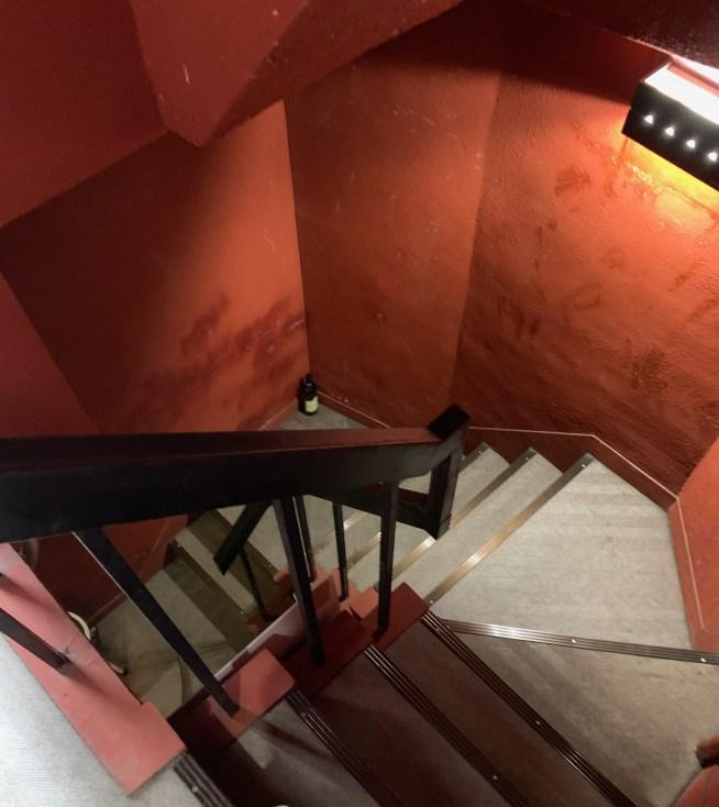 渋谷の「並木倶楽部」への階段