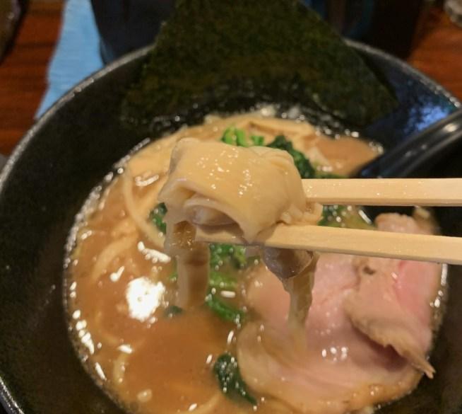 「麺屋 大和田」のラーメンのメンマ