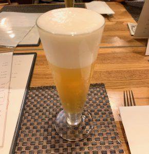 中目黒のイタリアン「ビストロK」の生ビール