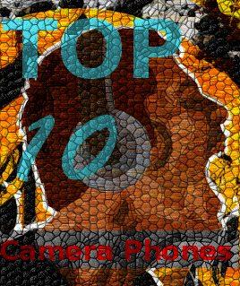 Showmetech top - TOP 10 celulares com câmeras 2010