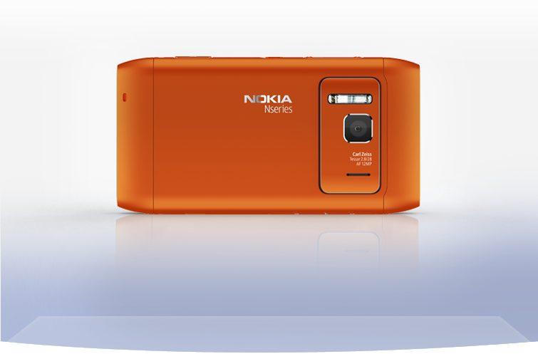 nokia n8 back camera orange 755x497 - Review: smartphone Nokia N8