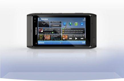 nokia n8 front horizontal black 755x497 - Review: smartphone Nokia N8