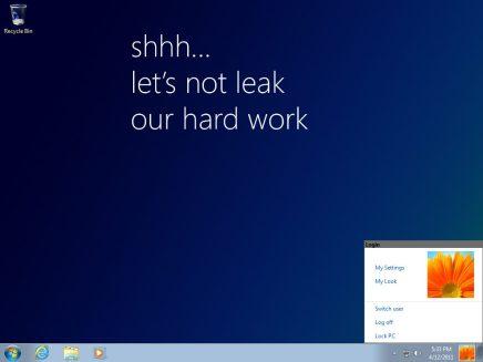 windows 8 milestone 1 build 7850 2 - Versão prévia do Windows 8 vaza na internet