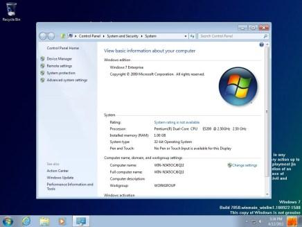 windows 8 milestone 1 build 7850 4 - Versão prévia do Windows 8 vaza na internet
