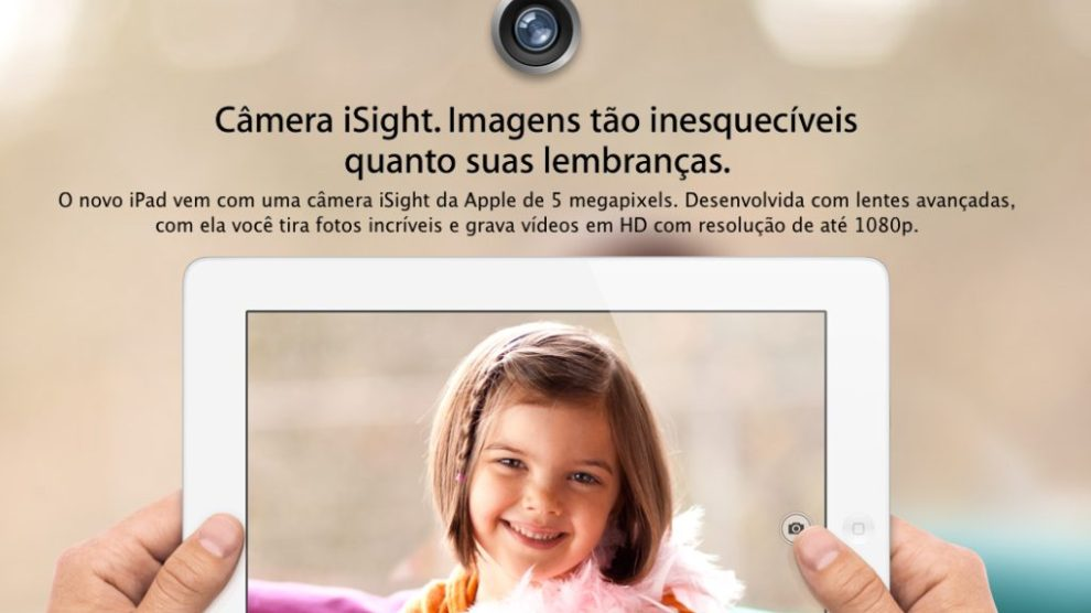 Reprodução Apple Novo iPad 4 - Novo iPad já aparece na loja brasileira da Apple
