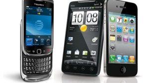 android vs apple vs blackberry - Pesquisa revela que usuário troca de smartphone a cada 16 meses