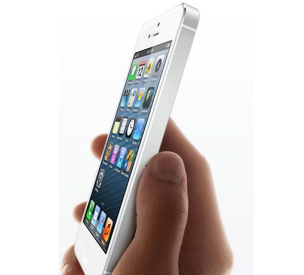 iPhone 5 branco Apple - iPhone 5 desbloqueado vai custar US$ 649 nos Estados Unidos