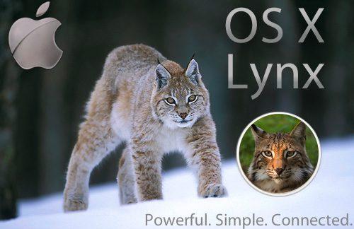 OS X 10.9 deverá se chamar Lynx - OS X 10.9 deverá se chamar Lynx e trazer integração com Siri e Mapas