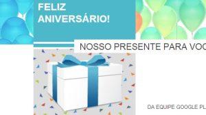 Aniversario Google Play - Um ano da Google Play - Promoções e Descontos