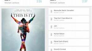 now playin Google Now Music Player Cards Android - Novo tocador de músicas é inspirado no Google Now (Android)