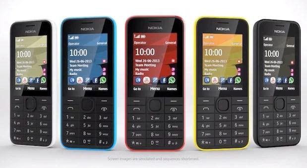 Nokia 208 - Nokia anuncia o Nokia 207 e Nokia 208: dois aparelhos com preço acessível