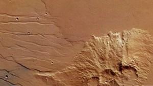 Captura de Tela 2014 03 06 às 18.08.35 - ESA registra fluxo de lava antiga em Marte