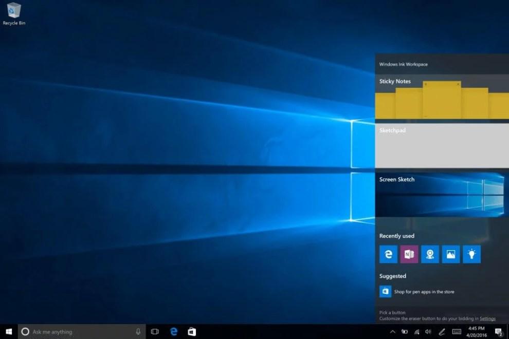 Windows 10 Insider Preview é atualizado com novo Iniciar e Windows Ink 4