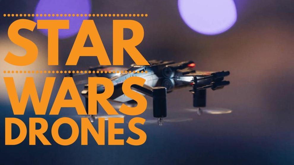 Pare tudo e veja esses Drones de STAR WARS 5