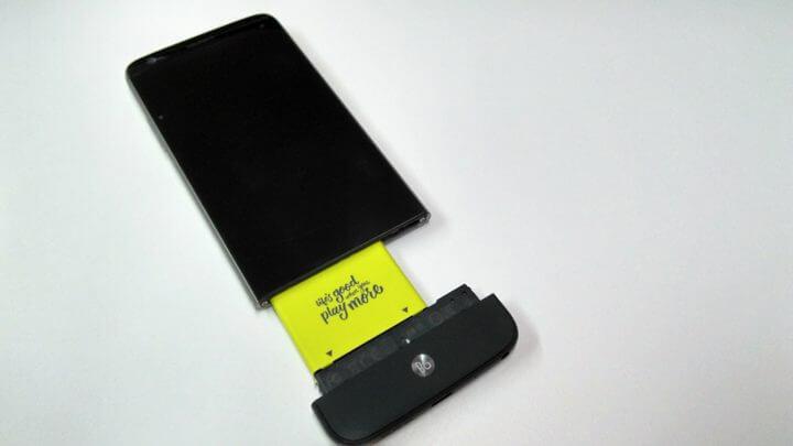 Como trocar os módulos do LG G5