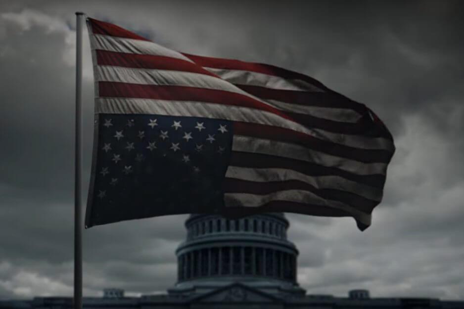 hoc - Netflix libera teaser da nova temporada do House of Cards...logo após a posse de Donald Trump