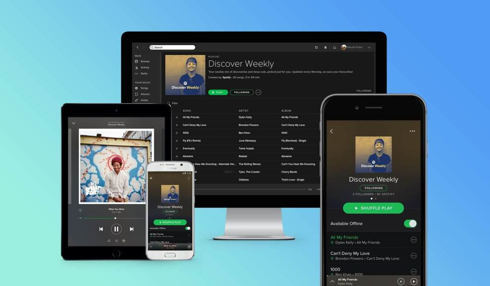 spotify discover weekly - Assinantes do Spotify vão ouvir novos álbuns com exclusividade