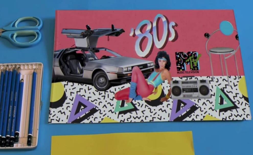 A estética dos anos 80