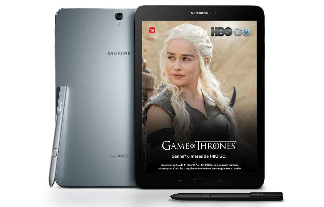 Promoção: Compre um Galaxy Tab S3 e ganhe seis meses de HBO GO